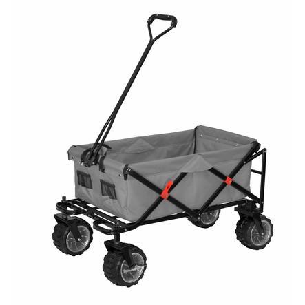 XTREM Toys and Sports Chariot de transport à main enfant pliable Cross-Rover, gris