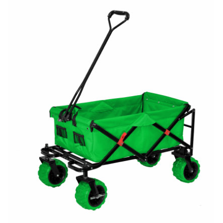 XTREM Toys and Sports Chariot enfant pliable Cross-Rover, vert