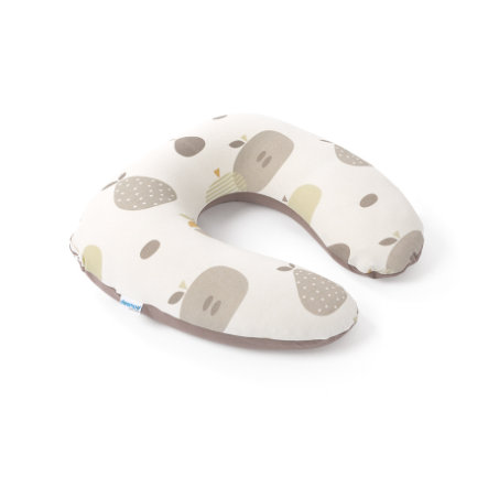 Doomoo Coussin d'allaitement Softy fruits taupe