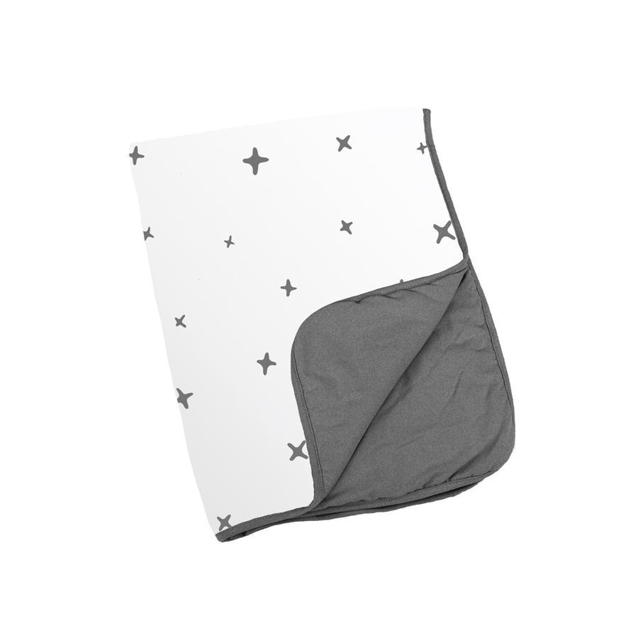 Doomoo Dream Couverture bébé Stars anthracite 75x100 cm