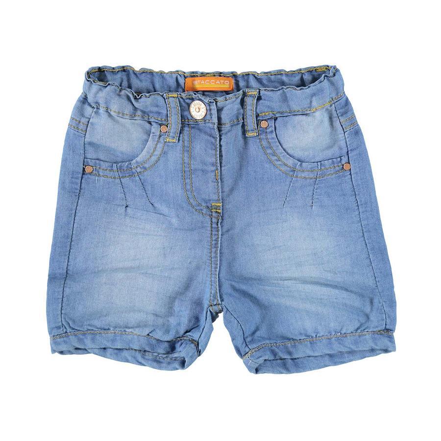 STACCATO Girl s Jeansshorts en denim bleu moyen