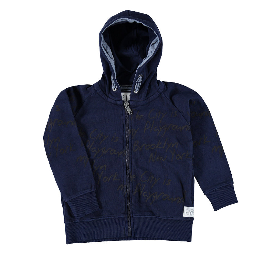 STACCATO Boys Chaqueta Sweat Jacket azul marino
