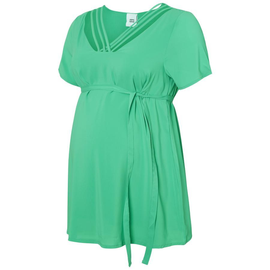 mama licious Gravid skjorte MLDEB Marine Green