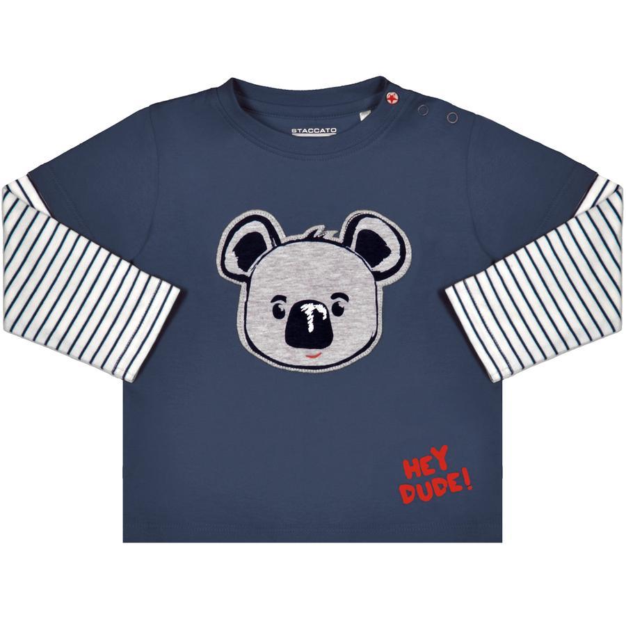 STACCATO Boys Shirt met lange mouwen blauw