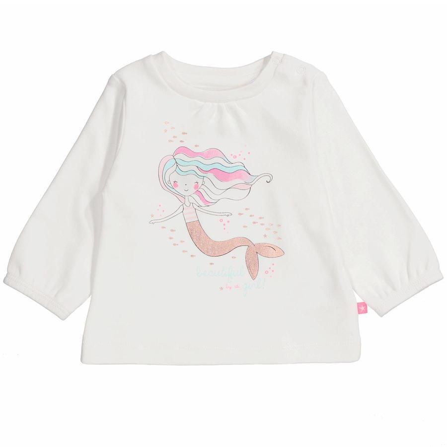 STACCATO Girl s shirt met lange mouwen gebroken wit