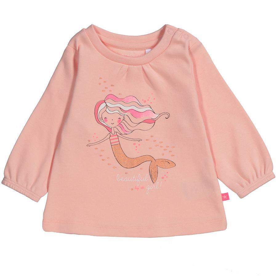 STACCATO Girl s lange mouw shirt pastel strand