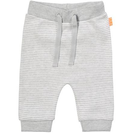 STACCATO Pantalón gris con rayas