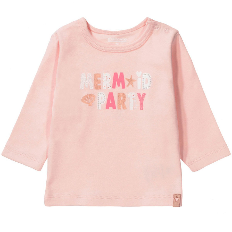 STACCATO Girls Langarmshirt pastel peach