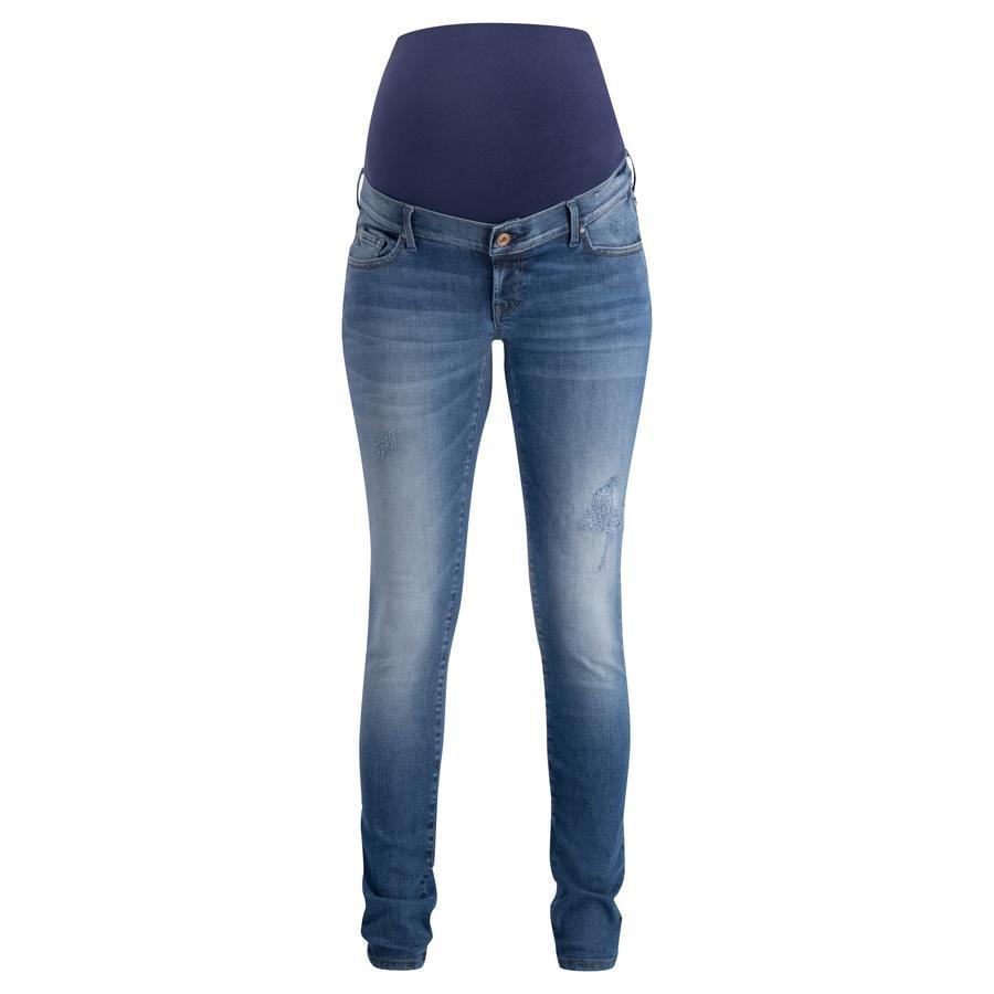 noppies gravid jeans Avi Tinted Blue