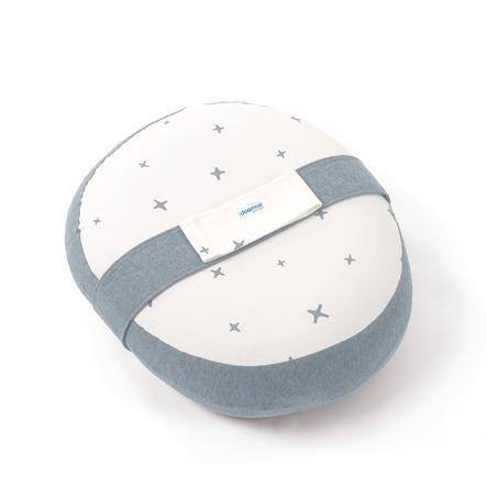 Doomoo Hoes voor voedingskussen Relax Stars grijs-blauw