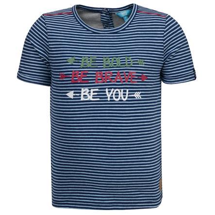 couru ! Boys T-Shirt avec des rayures