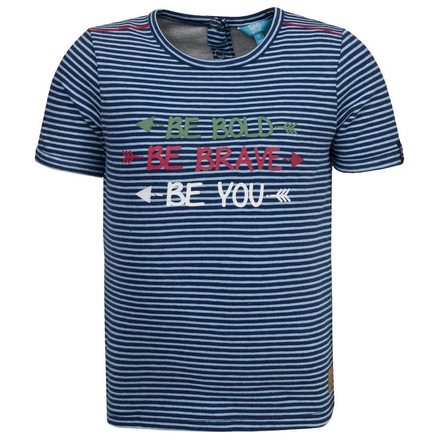 corrió! Boys T-Shirt con rayas
