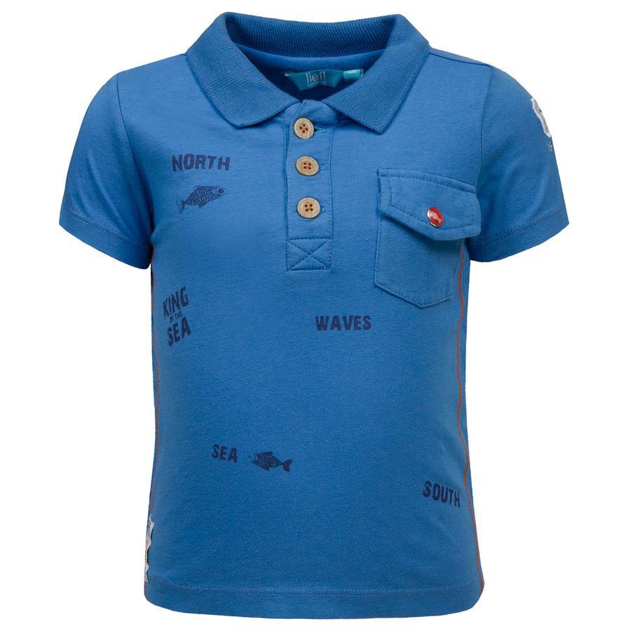 corrió! Boys Polo- T-Shirt , azul