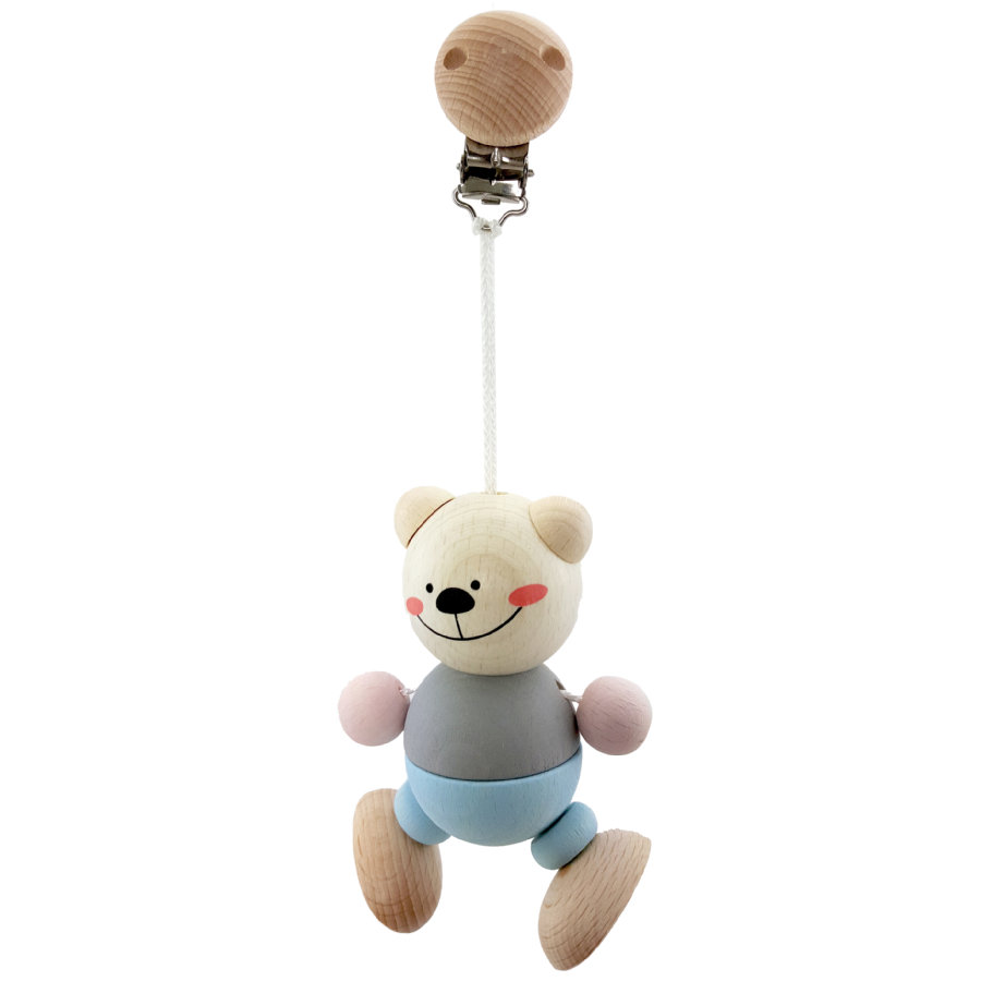 HESS Pendentif à clipser ours