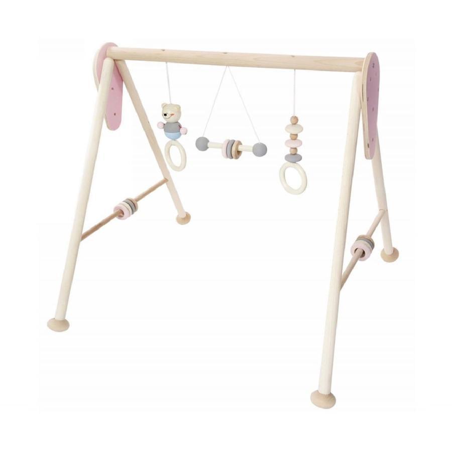 HESS Baby-Gym, Bär natur rosa