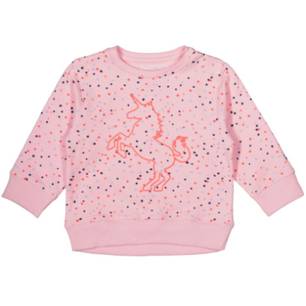 STACCATO Girls Sweatshirt rose Alloverprint