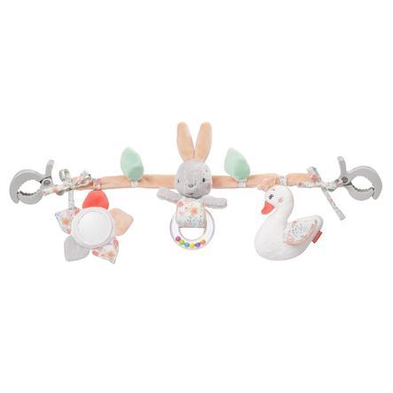 fehn® Cadena para carro de bebé cisnes