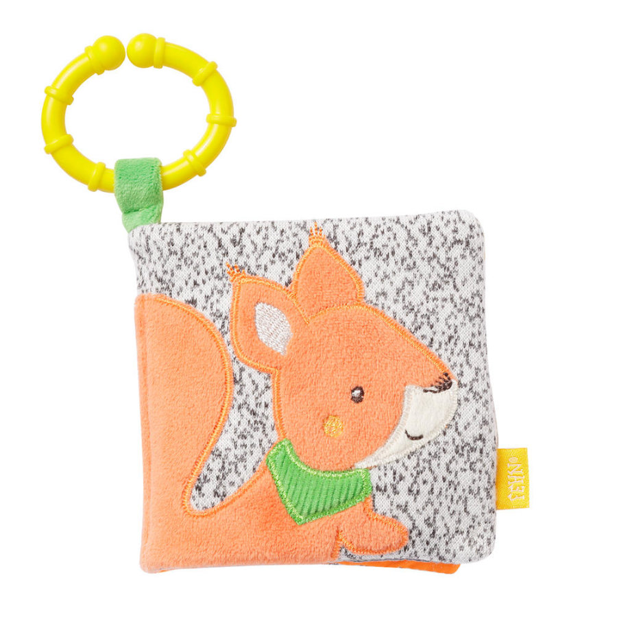fehn® Soft-Bilderbuch Eichhörnchen