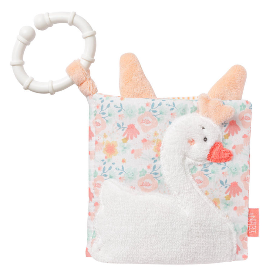 fehn Libro textil suave cisne