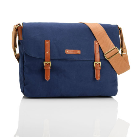 storksak Wickeltasche Ashley Blue