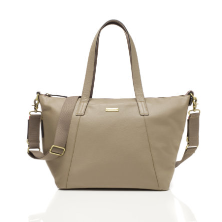 storksak Wickeltasche Noa Leather Clay