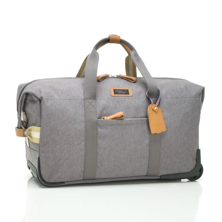 storksak Wickeltasche Cabin Carry-On Grey