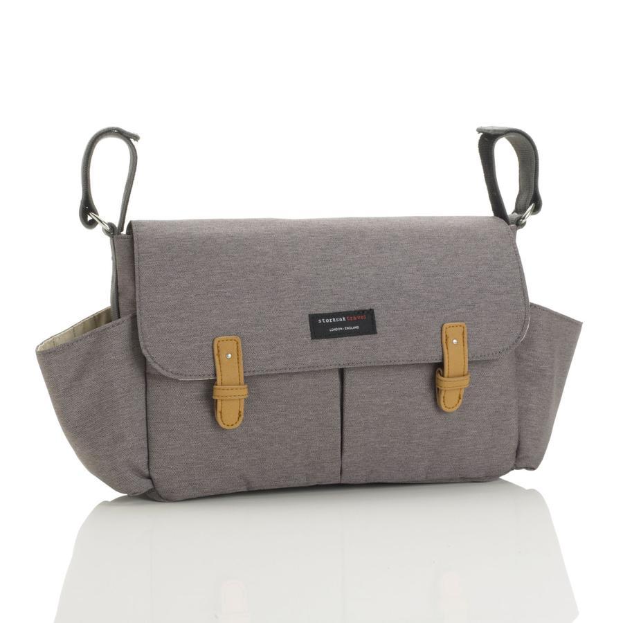 storksak Organisateur de poussette Travel gris