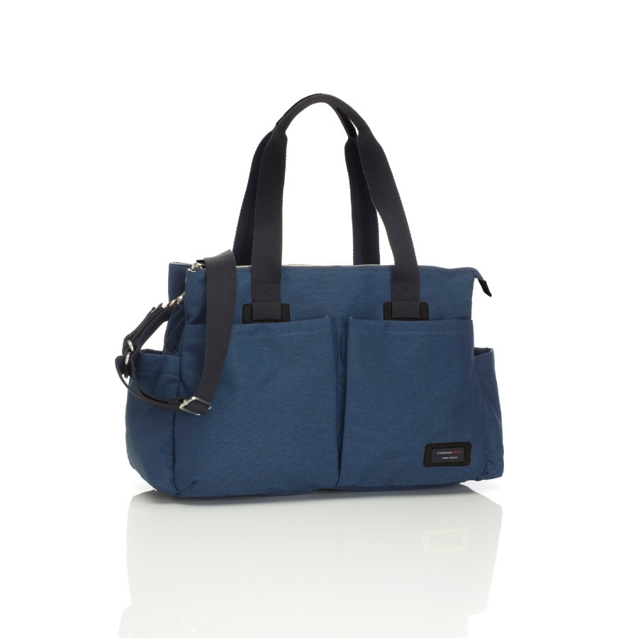 storksak Wickeltasche Shoulder Bag Navy