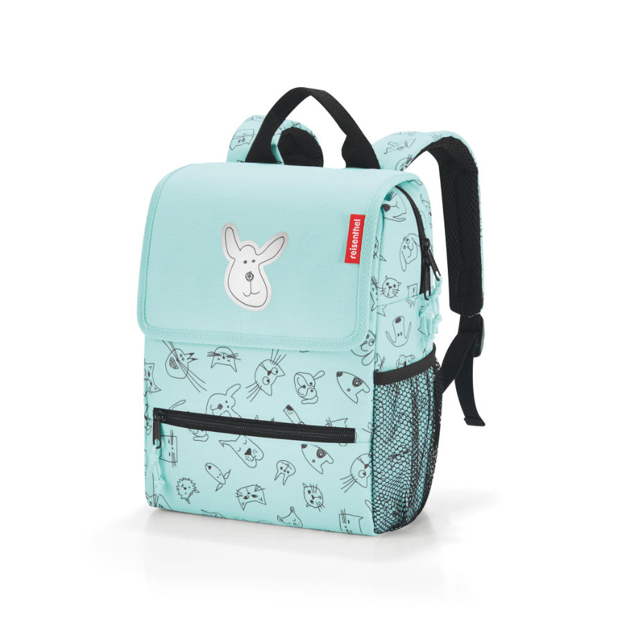 reisenthel® backpack kids cats and dogs menta