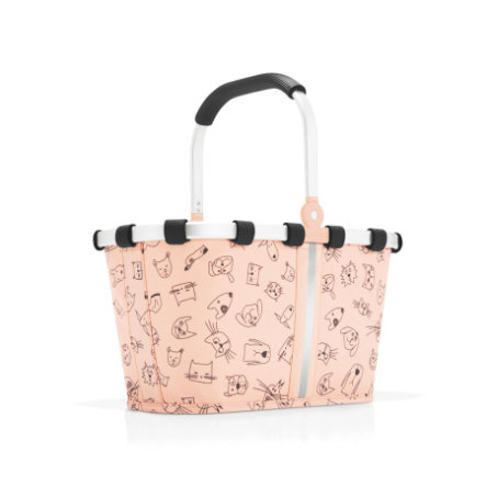 fb6a56647ba reisenthel® carrybag XS kids cats and dogs roze | pinkorblue.be