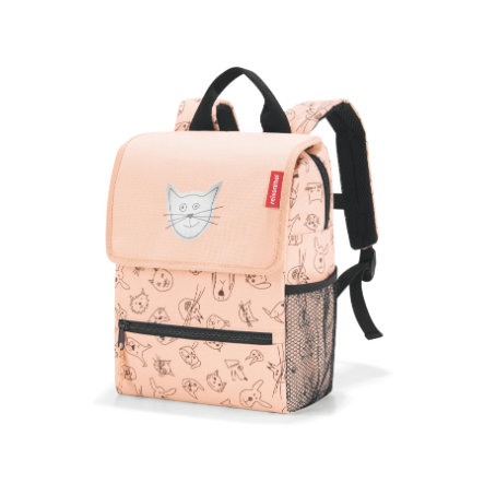 reisenthel® backpack kids cats and dogs roze