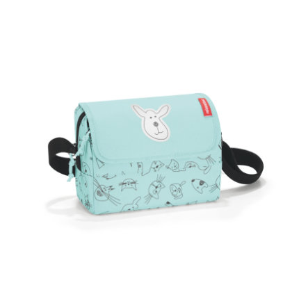 reisenthel® Torebka na ramię everydaybag kids cats and dogs mint