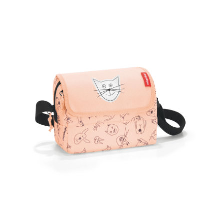 reisenthel® everydaybag XS kids cats and dogs rosa