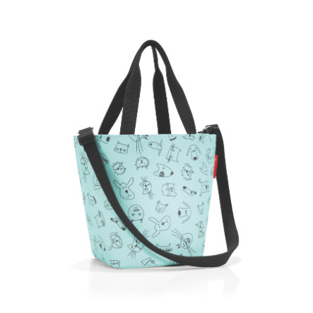 reisenthel® shopper XS kids cats and dogs mint