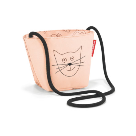 reisenthel® minibag kids cats and dogs rosa
