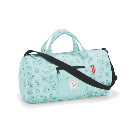 reisenthel® mini maxi dufflebag S kids cats and dogs mint