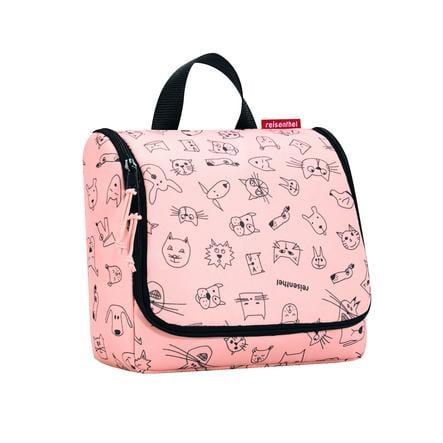 Reisenthel® toaletní taška kids cats and dogs růžová