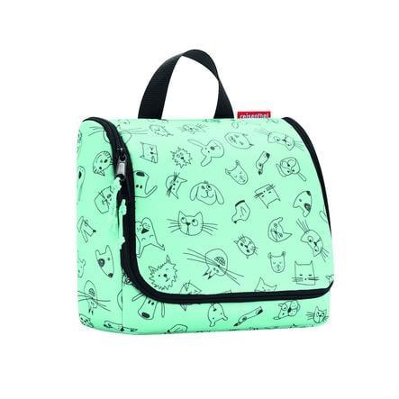 reisenthel® toaletní taška kids cats and dogs mint