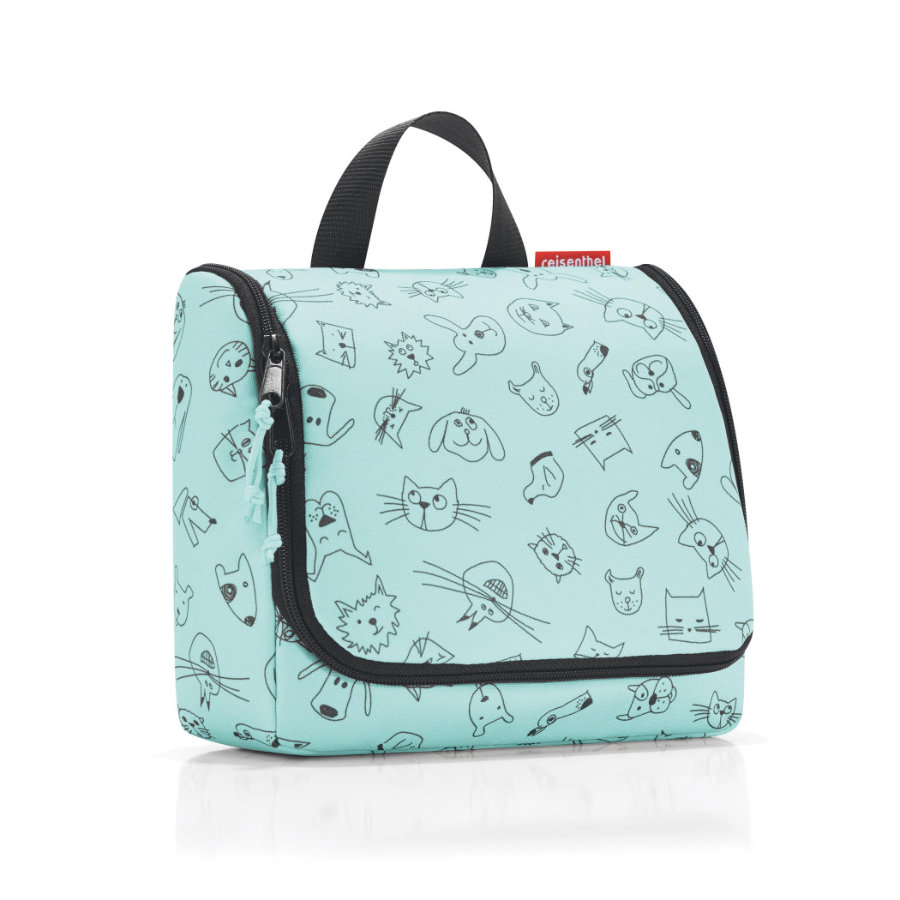 reisenthel® toiletbag kids cats and dogs mint