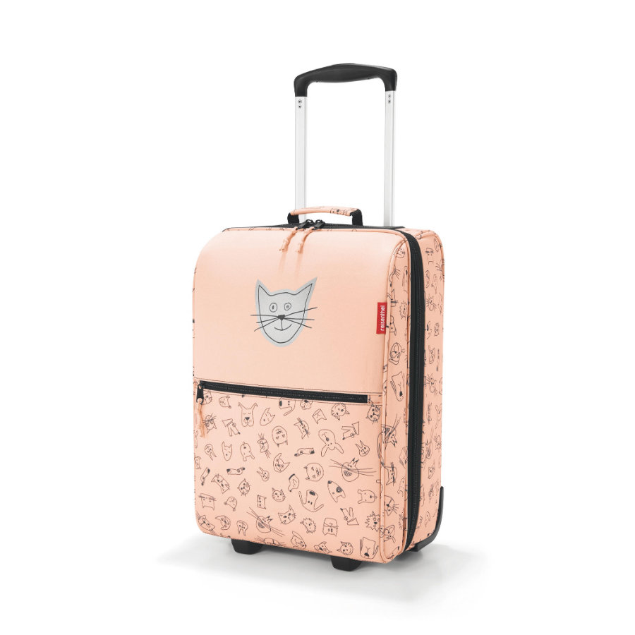 reisenthel® trolley XS kids cats and dogs rosa