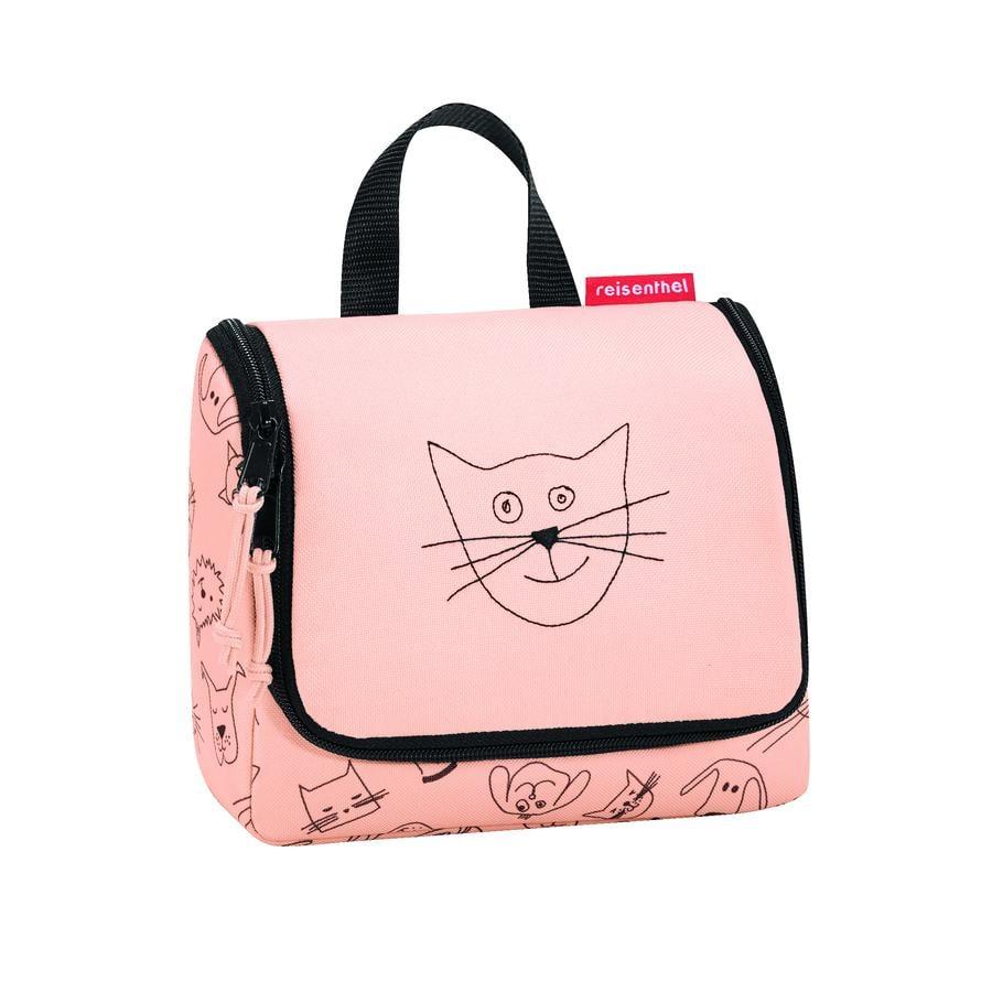 reisenthel® Trousse de toilette S kids chiens chats rose