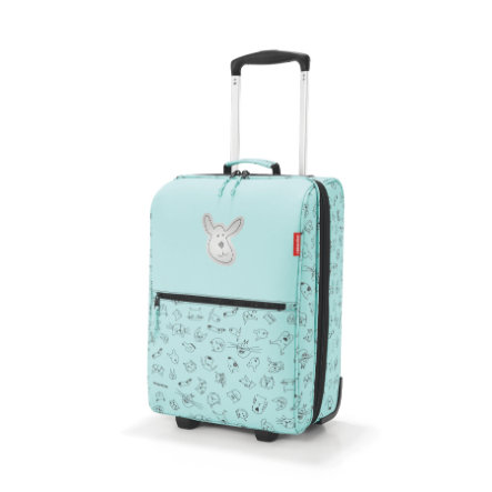 reisenthel® Valise trolley XS kids chiens chats vert menthe