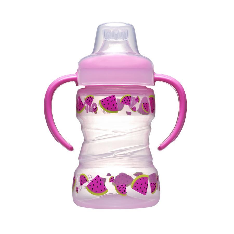 nip Soft Trainer Cup Kubek do picia z silikonowym ustanikiem 260 ml Melone