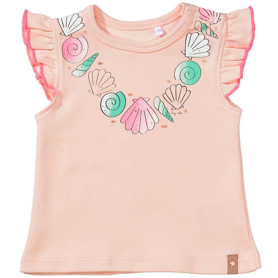 STACCATO Girl s T-Shirt pastelowa brzoskwinia