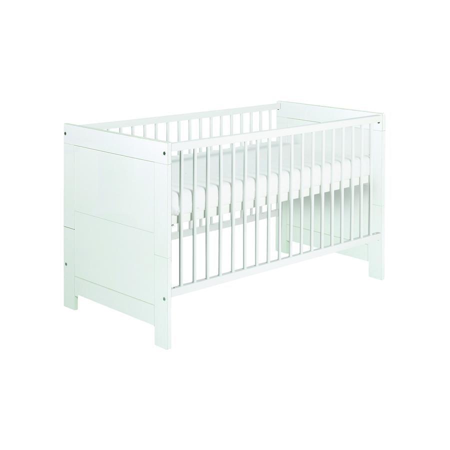 Schardt Kombi-Kinderbett Nordic White