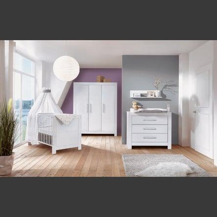 Schardt Kinderkamer Nordic White 3-deurs