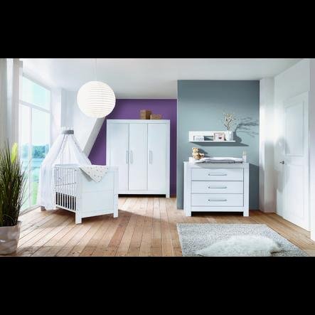 Schardt Kinderzimmer Nordic White 3-türig - babymarkt.de