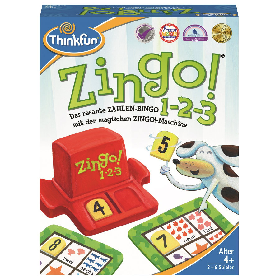 Ravensburger ThinkFun Zingo!® - Zingo!® ThinkFun 1-2-3 - dce14a