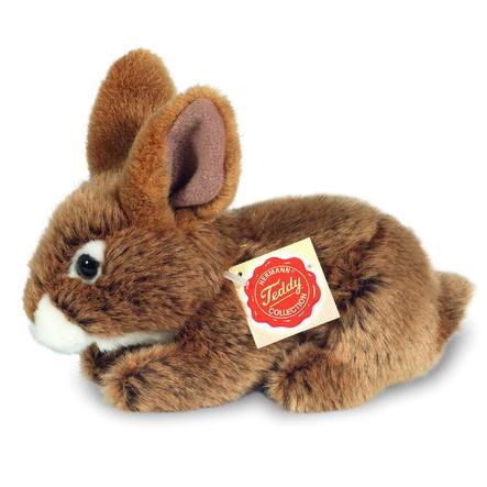 HERMANN® Teddy Hare siddende brun, 19 cm