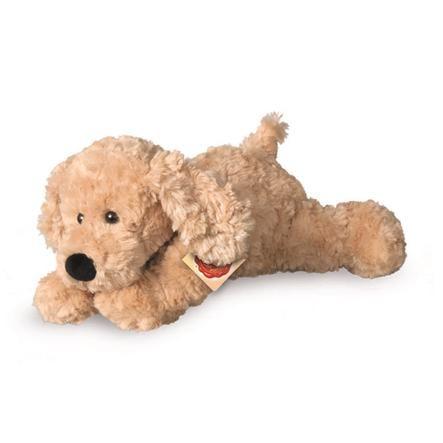Teddy HERMANN® Schlenkerhund beige, 28 cm